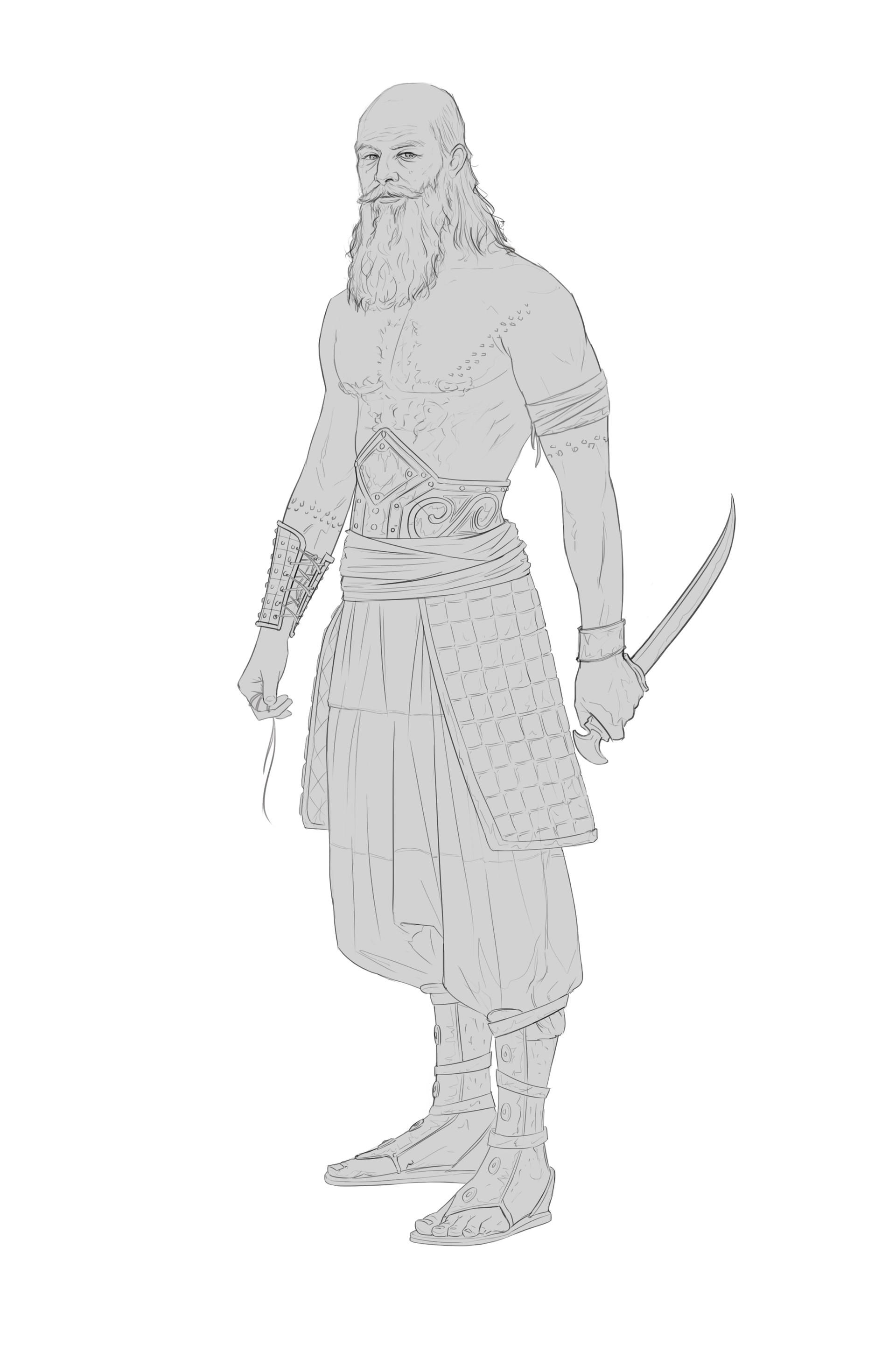 Miguel sastre warrior