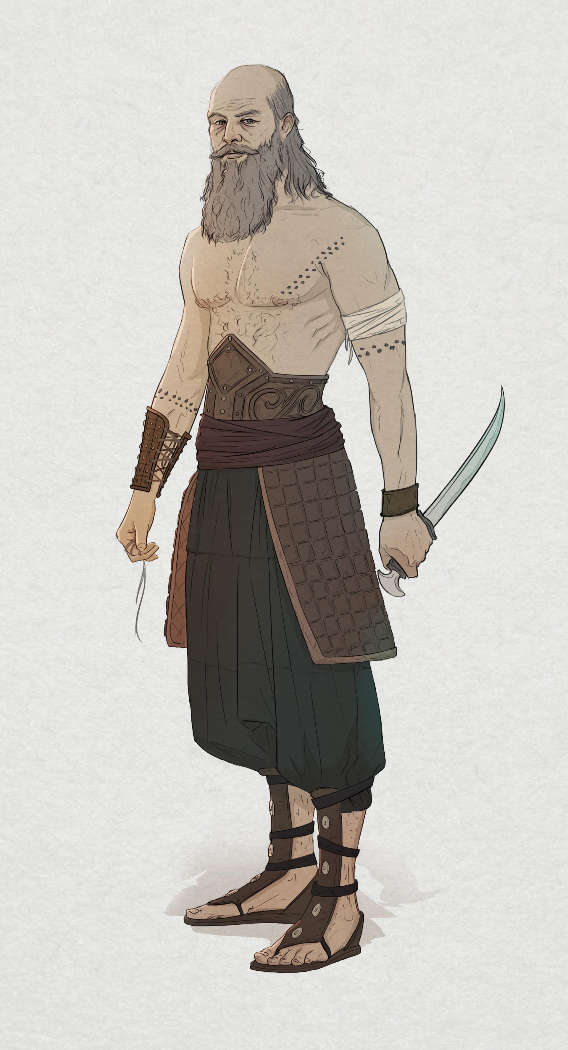 Miguel sastre warrior2