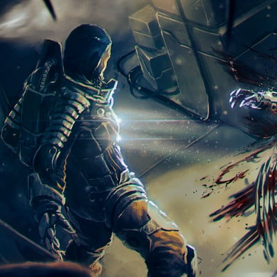 Kaithzer morejon matanga terror espacial 8 final