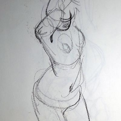 Gilles beloeil figure drawing