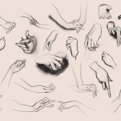 Gilles beloeil hands studies from sargent s paintings