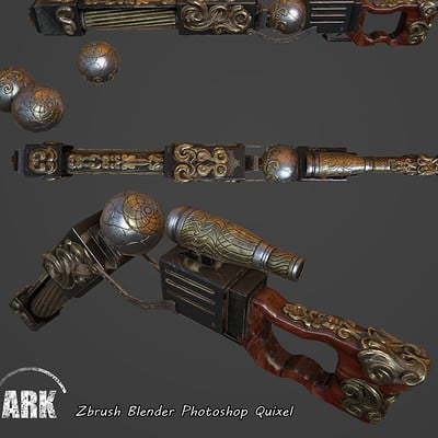 Ahmadreza khaksari steampunk sniper