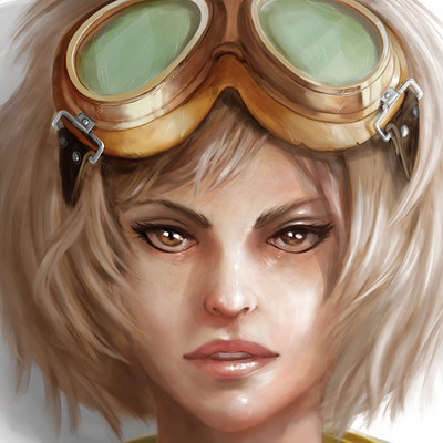 Ilhan yilmaz pilot girl portrait 12