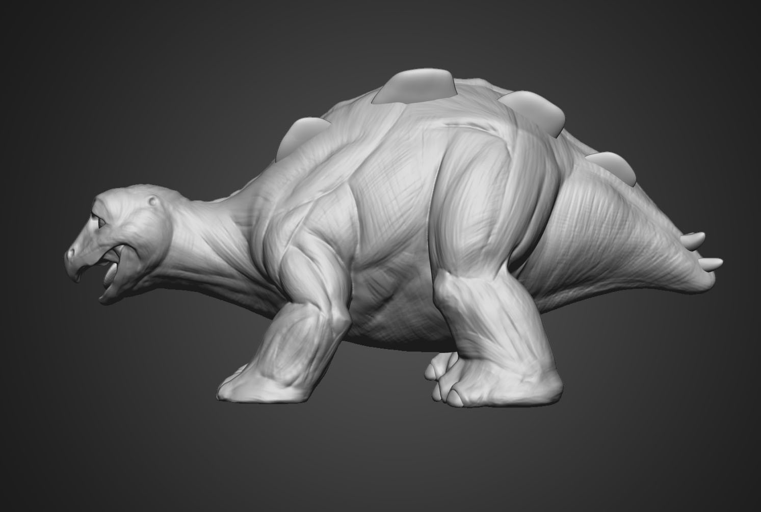 Neal biggs spike conceptsculpt side01