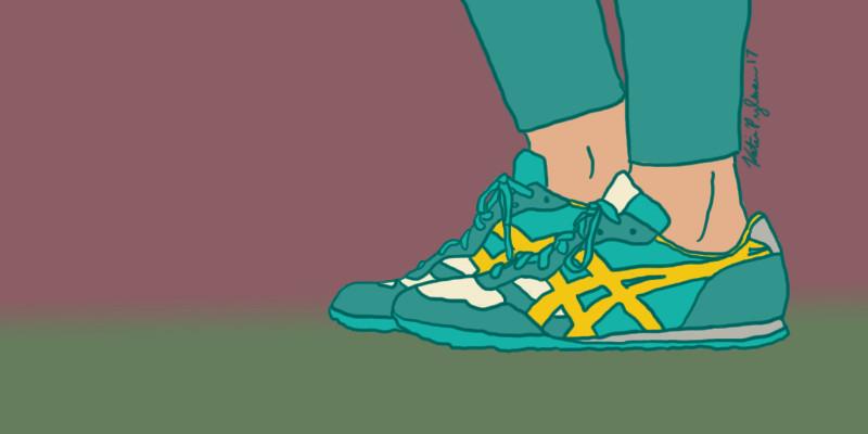 Katie pylman running illustration1
