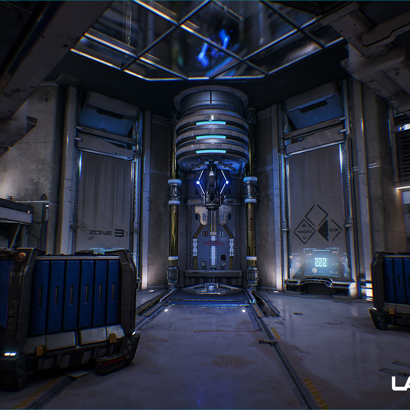 Lawbreakers - Grandview: Battery Room Area