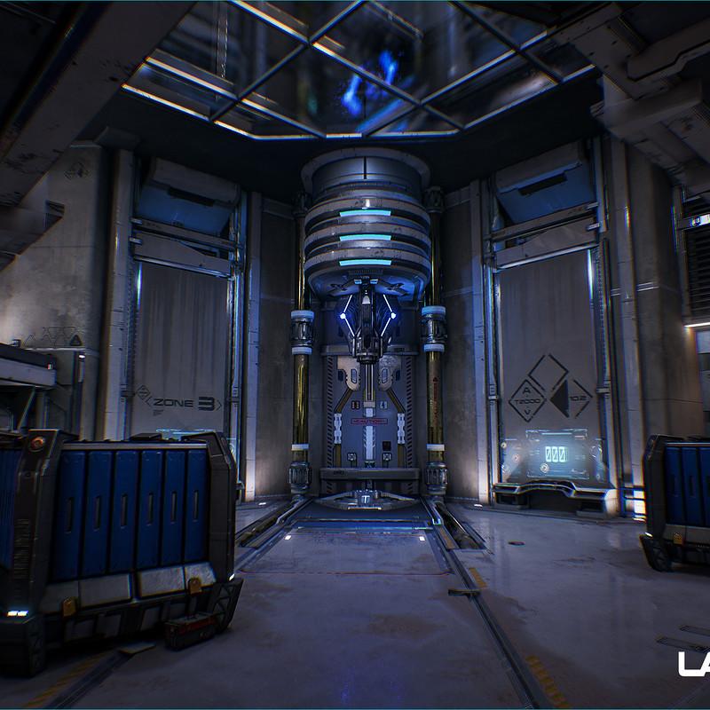 Lawbreakers - Grandview: Battery Room Area