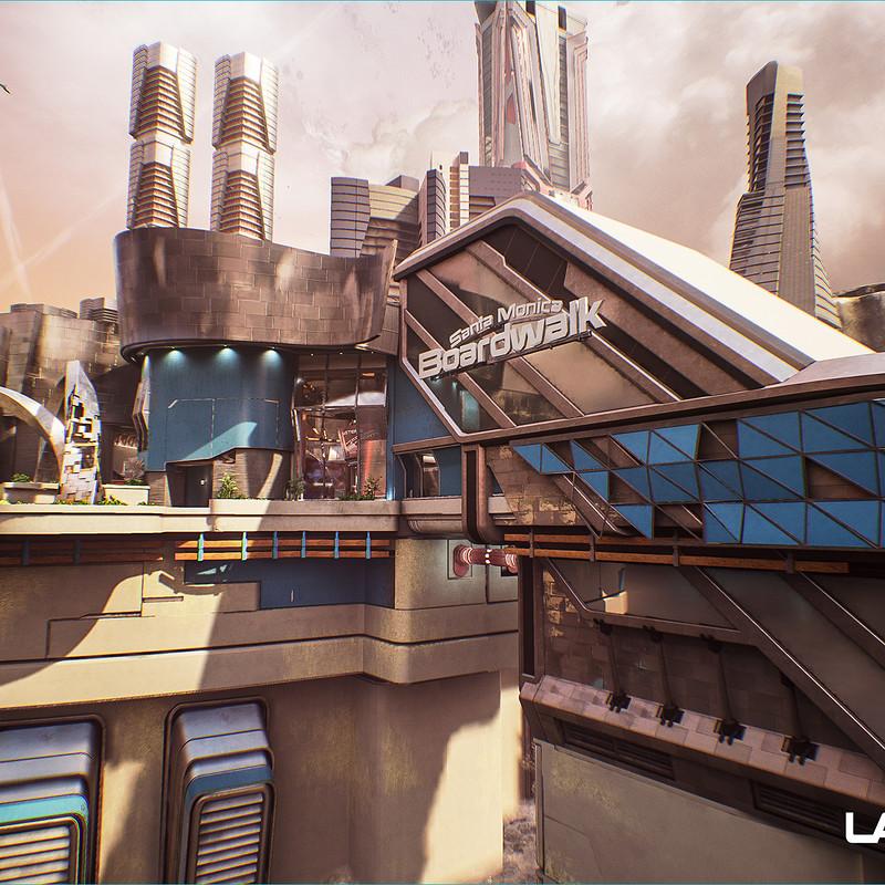 Lawbreakers - Promenade: Exteriors