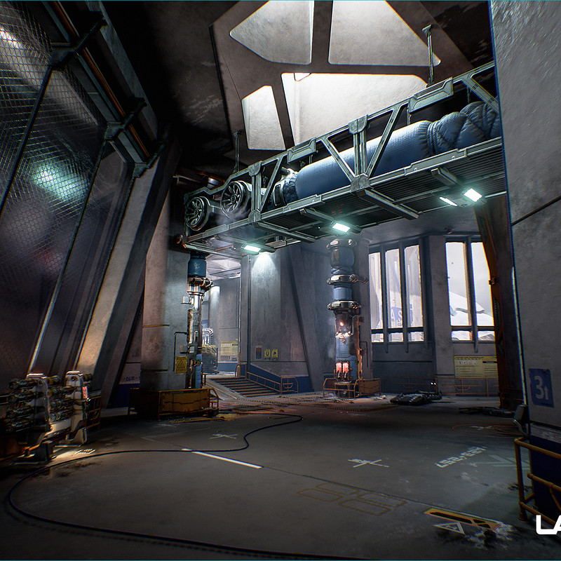 Lawbreakers - Mammoth: Interior