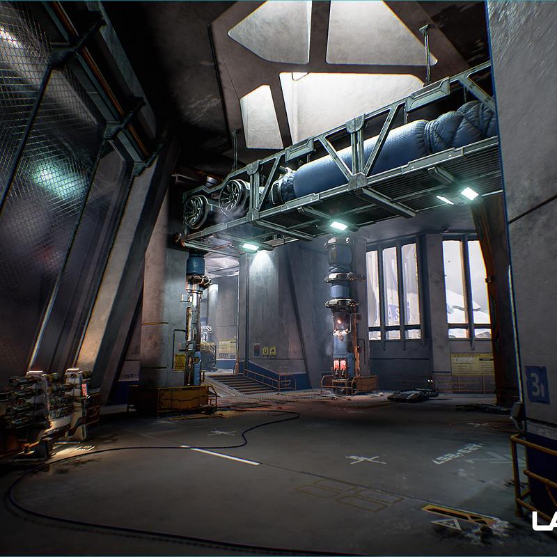 Lawbreakers - Mammoth: Interior