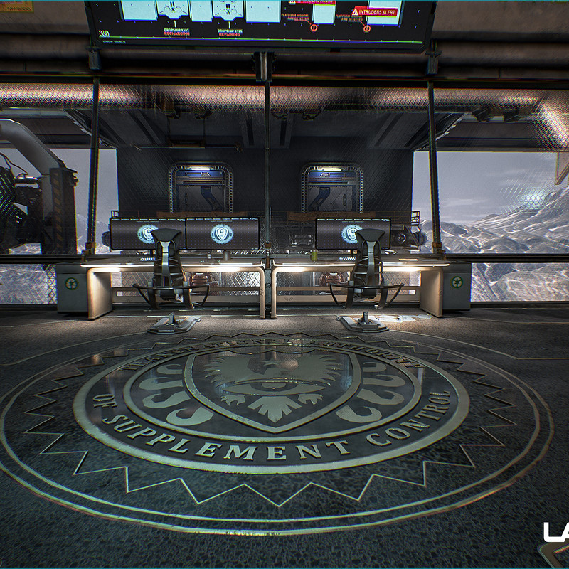 Lawbreakers - Mammoth: Center Interior