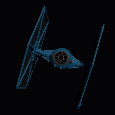 Karl beiler tie fighter 013