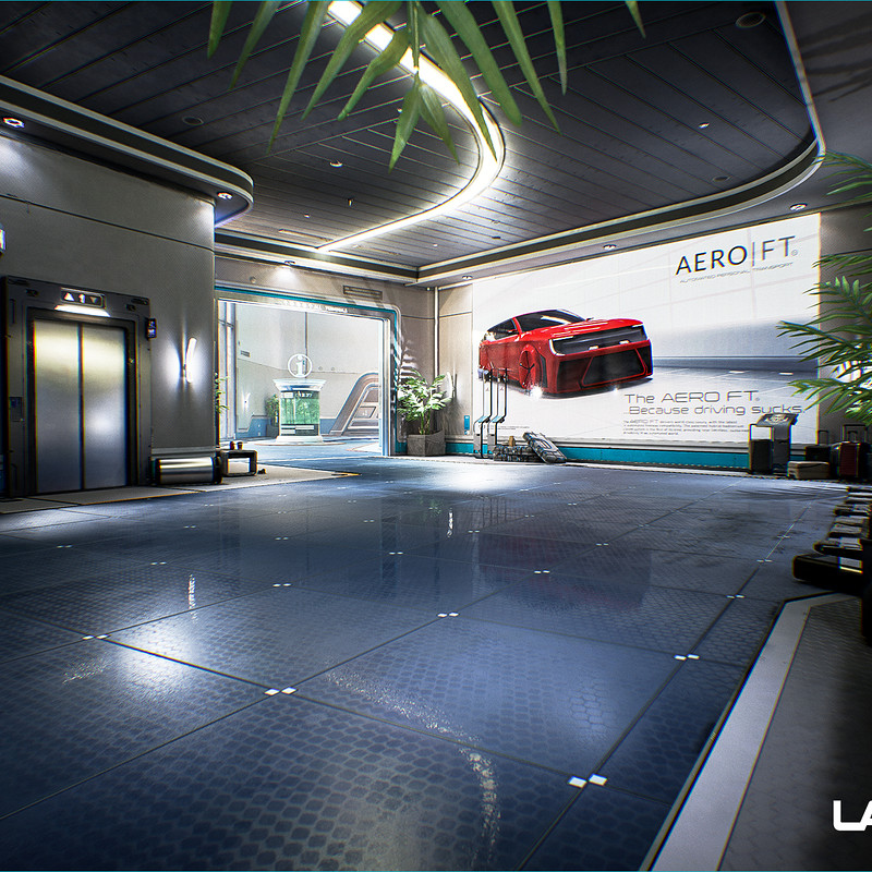 LawBreakers - Station: Spawn Exits