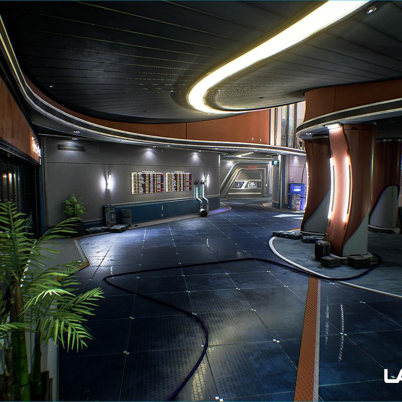 LawBreakers - Station: Battery Room