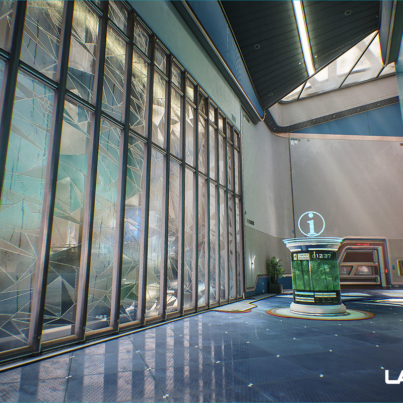 LawBreakers - Station: Upper Battery Room