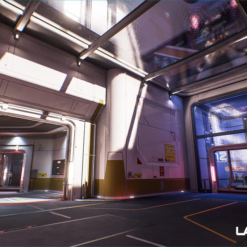 Lawbreakers - Reactor: Spawn Rooms