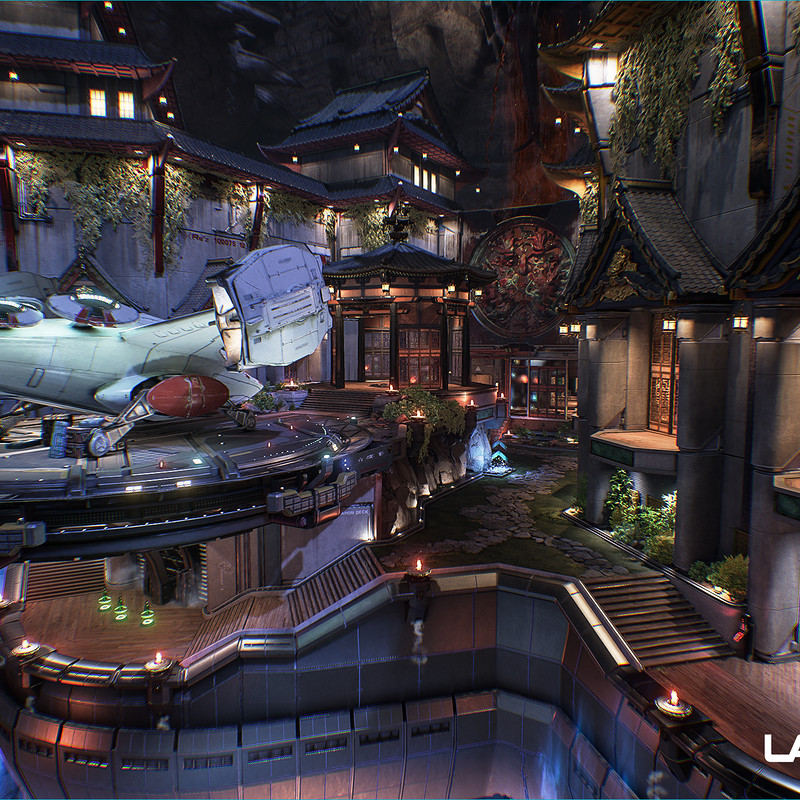 Lawbreakers - Redfalls: Center Platform