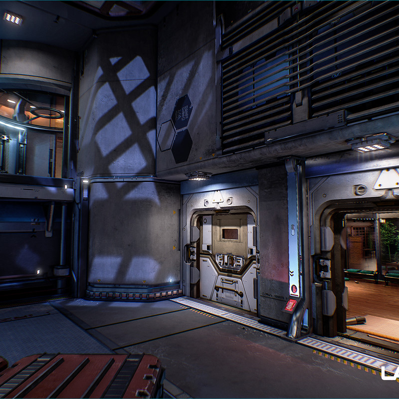 Lawbreakers - Redfalls: Battery Room