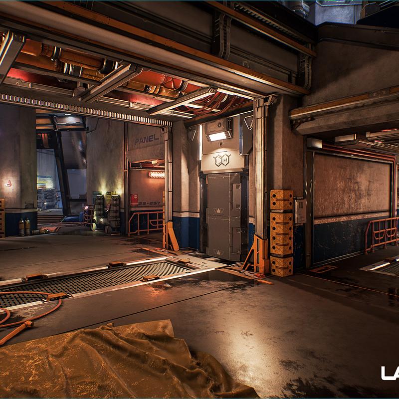 Lawbreakers - Trench: Interior