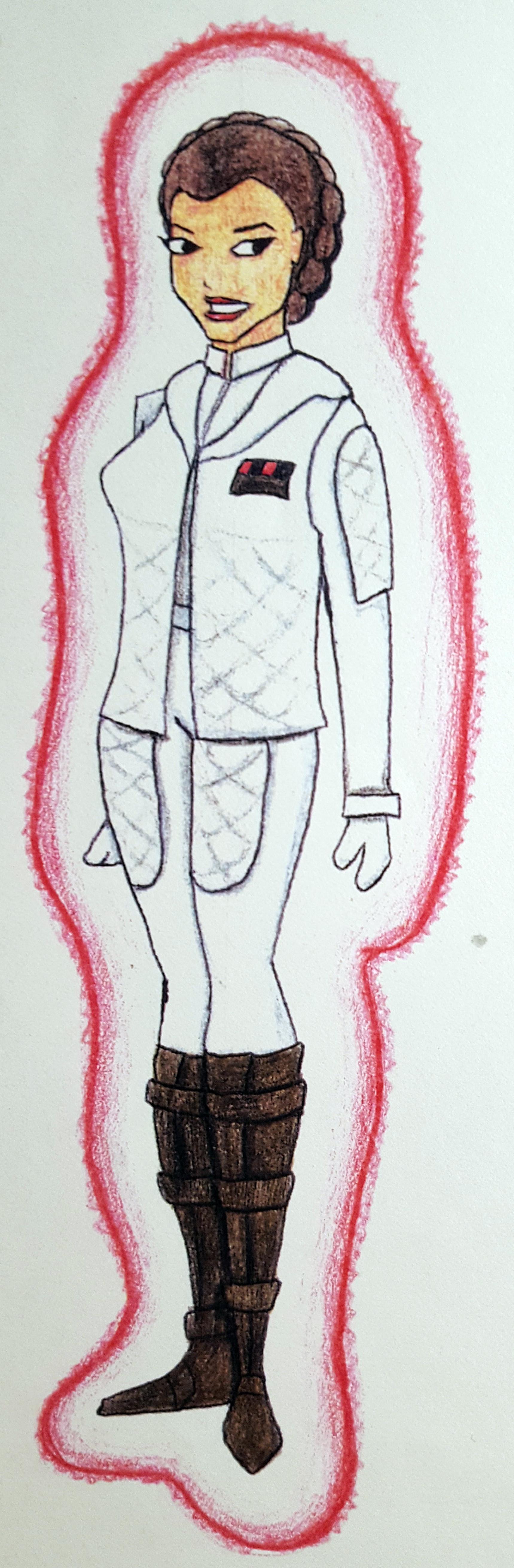 Benni amato swg leia costumes s1 hoth