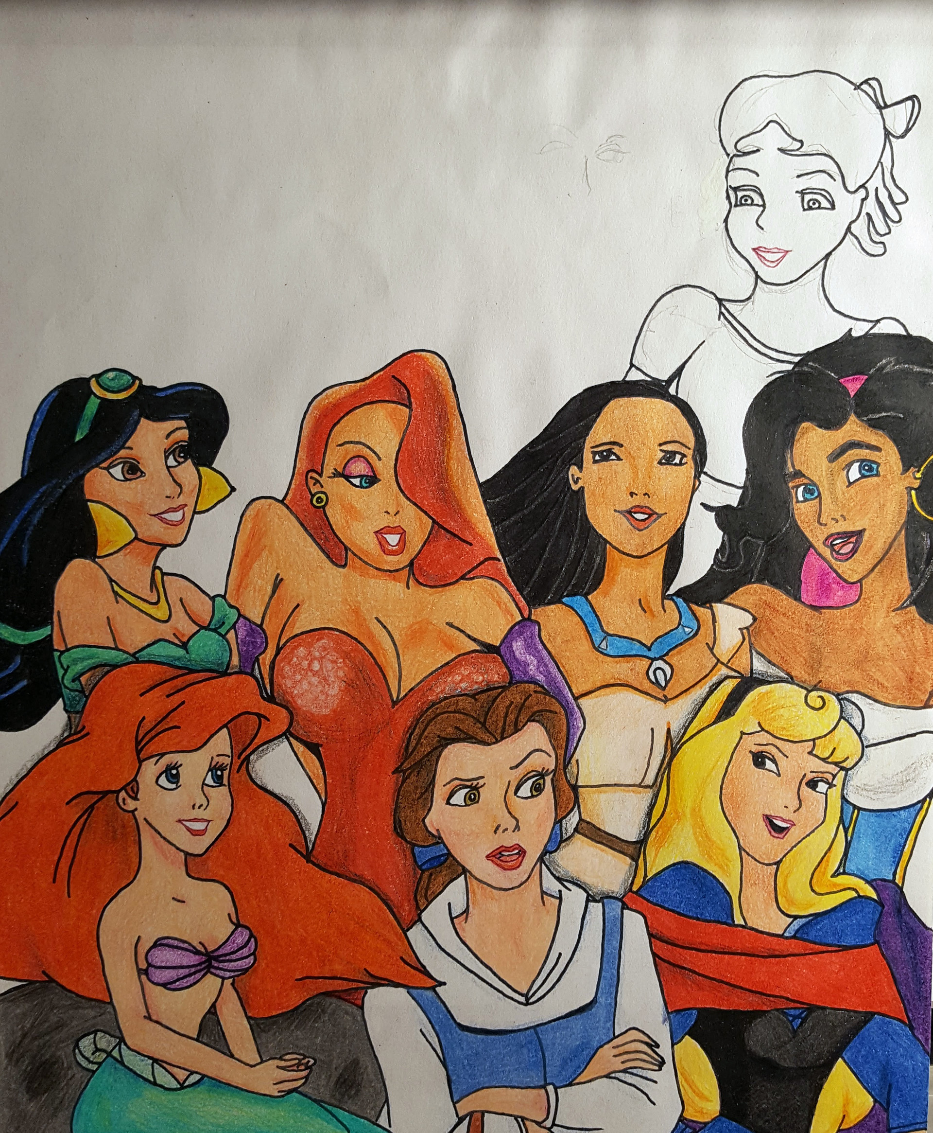 Benni amato disney heroines unfinished