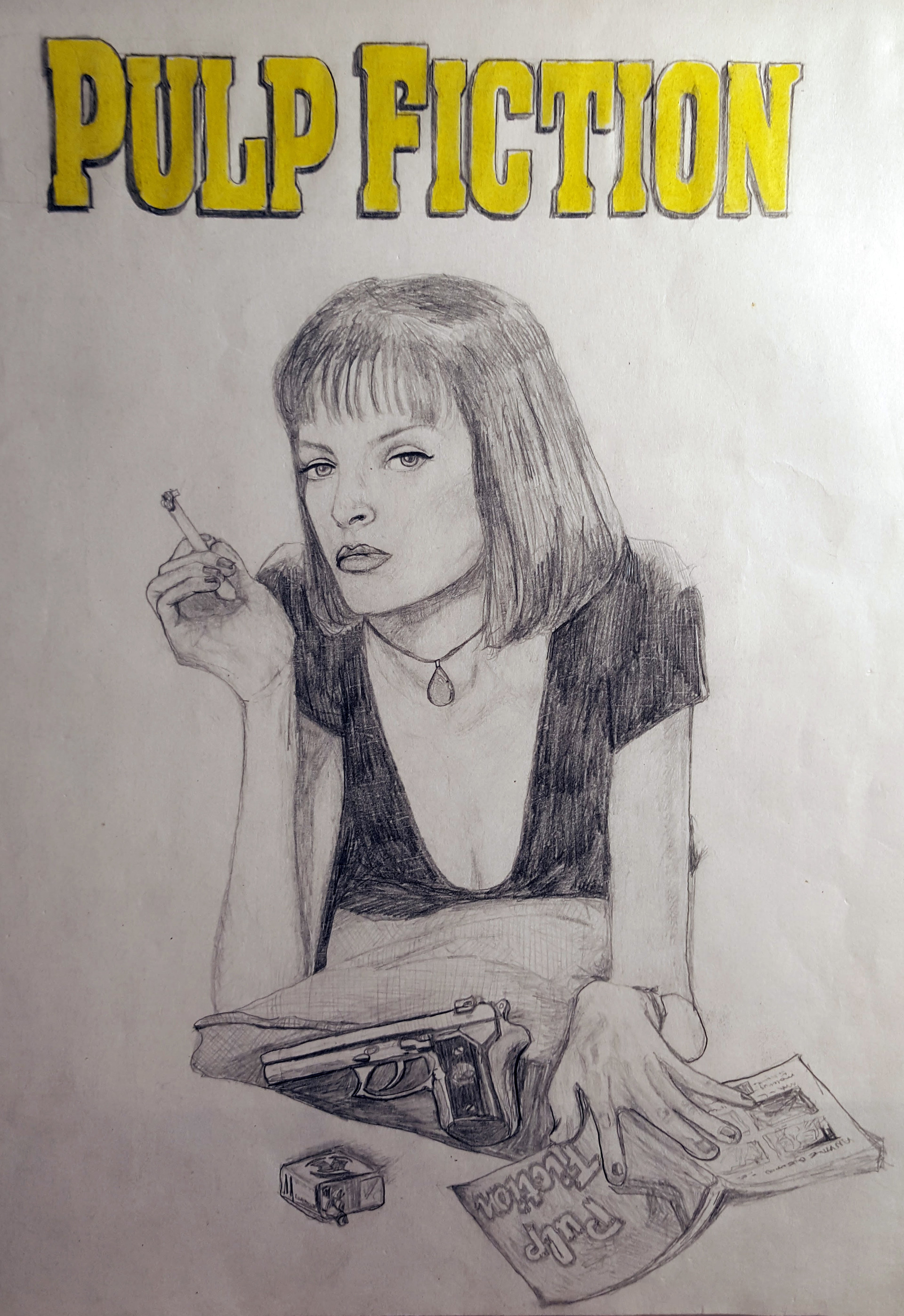 Benni amato pulp fiction poster