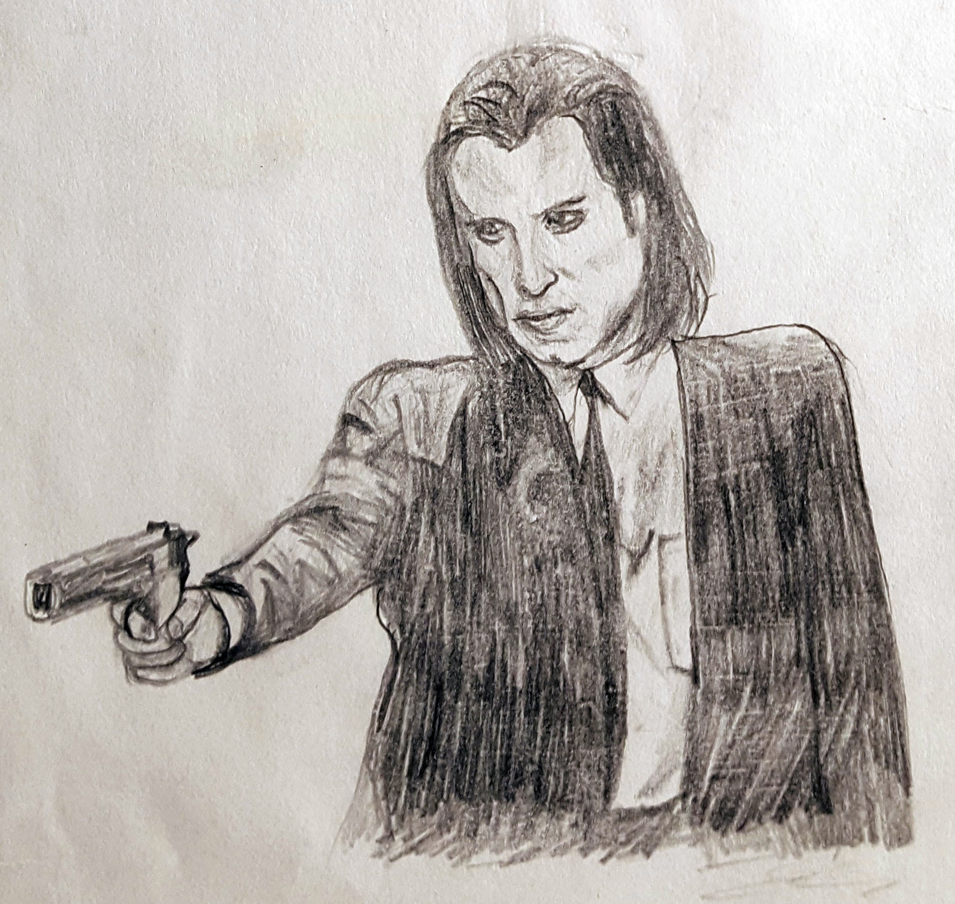 Benni amato pulp fiction vincent gun