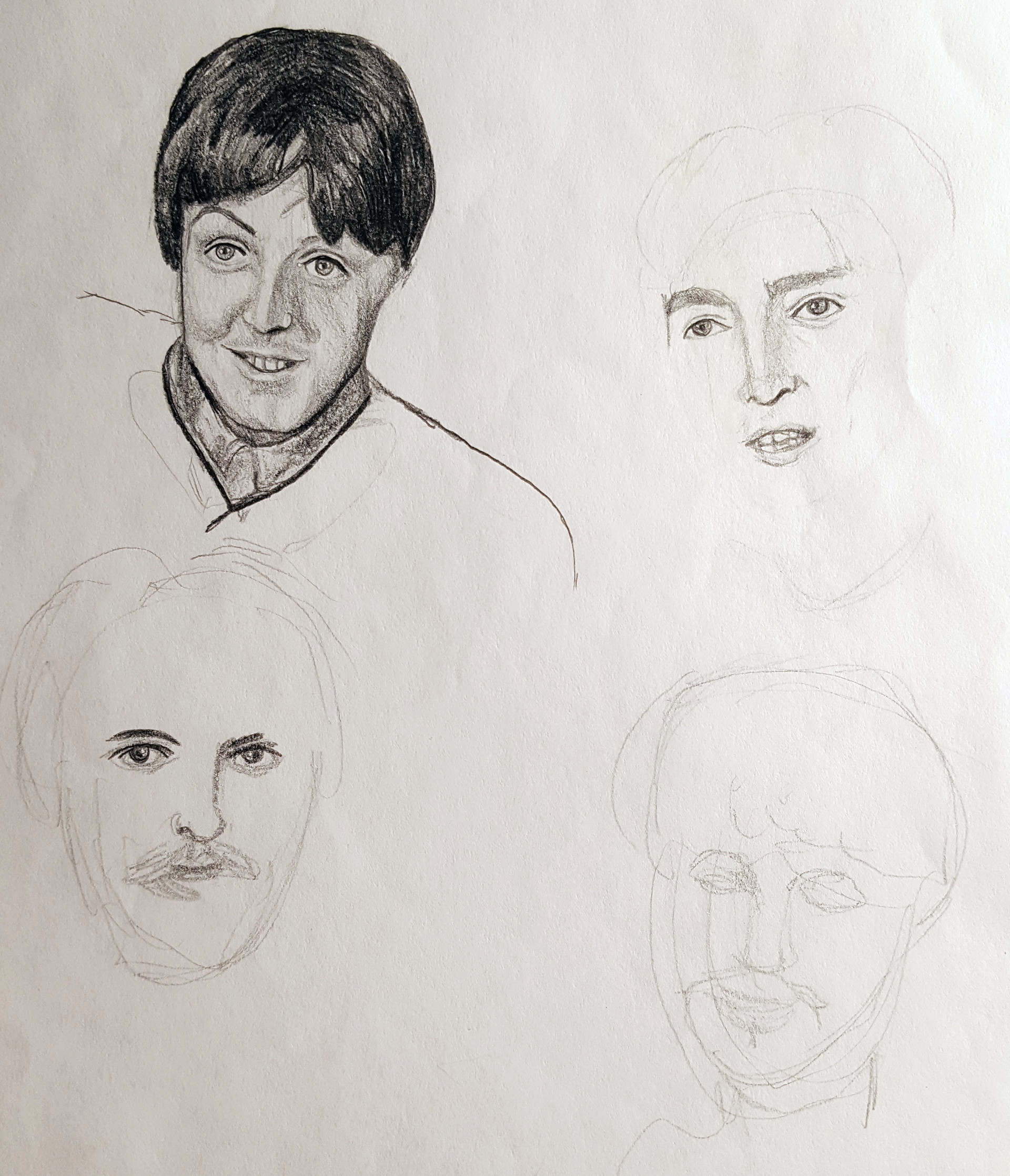 Benni amato beatles unfinished