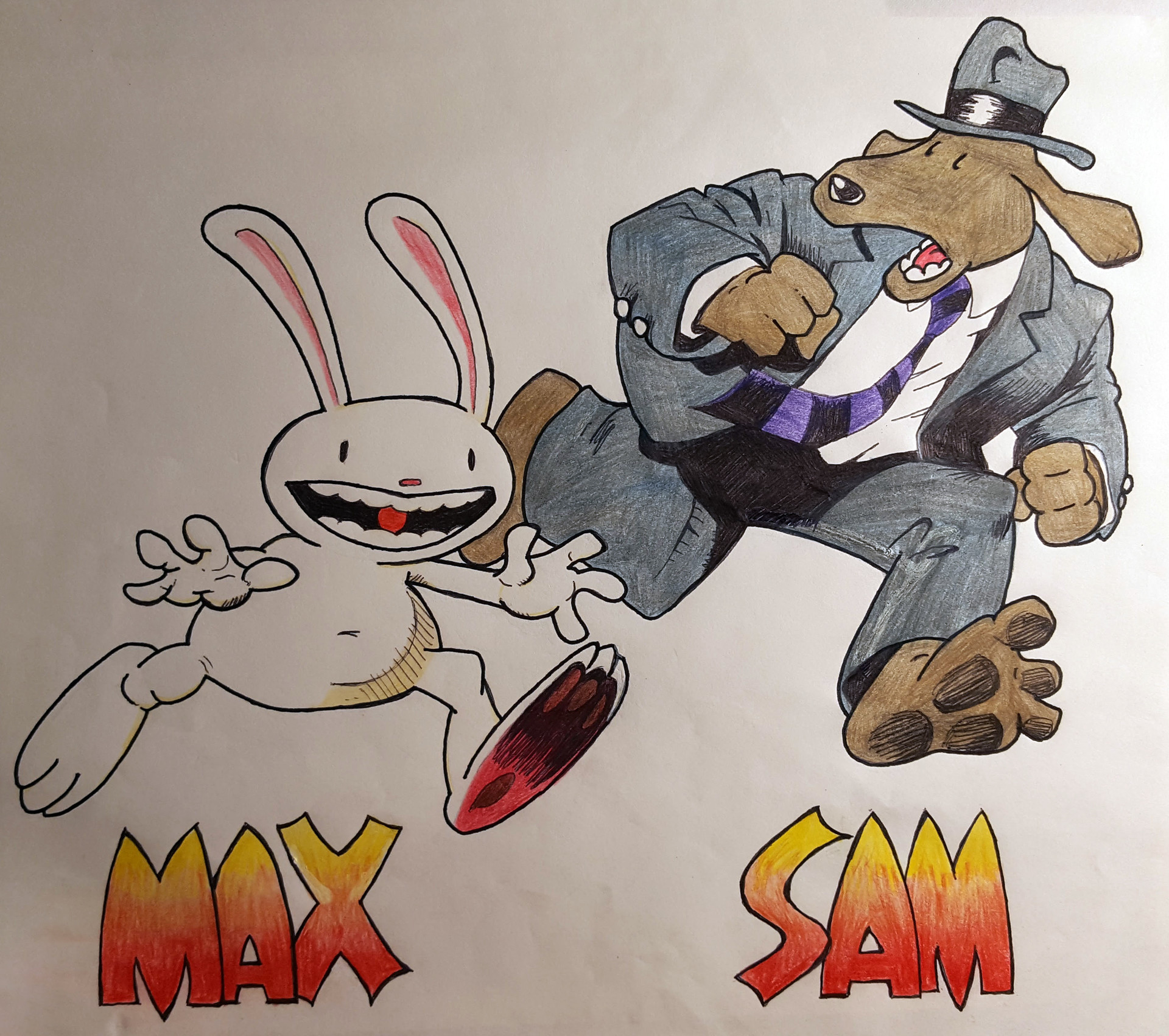 Benni amato sam and max