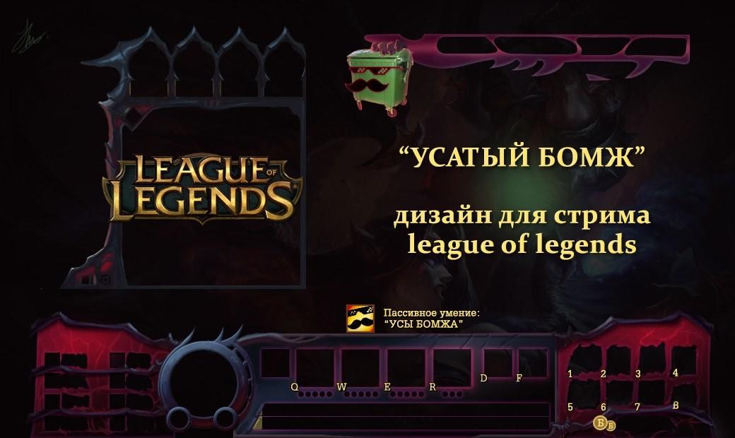 league of legends hud