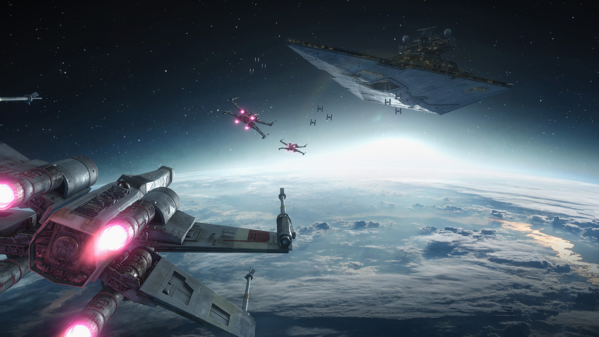 Artstation Star Wars Battlefront Rogue One X Wing Vr Mission Darius Kalinauskas