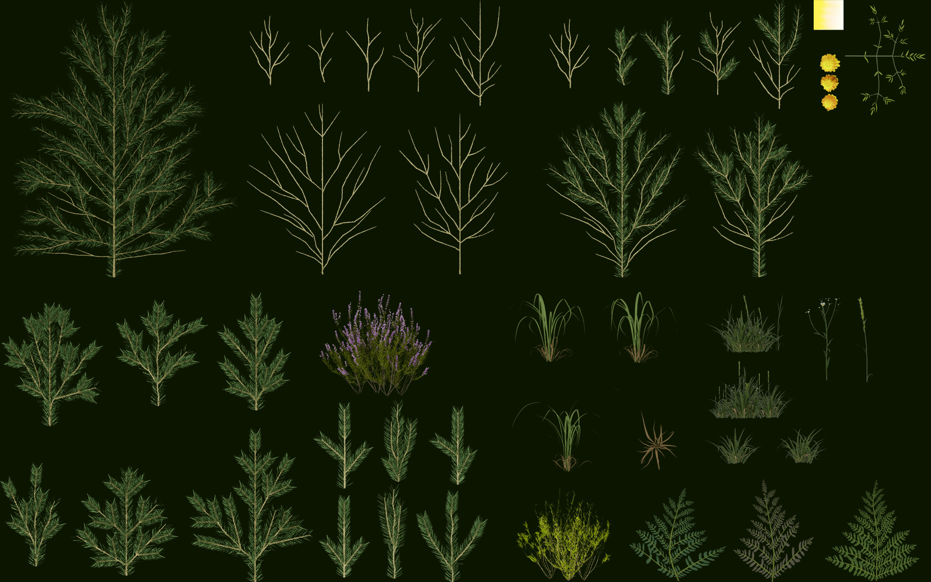 ArtStation - Forest Environment, Maciej Stok-Stokowiec