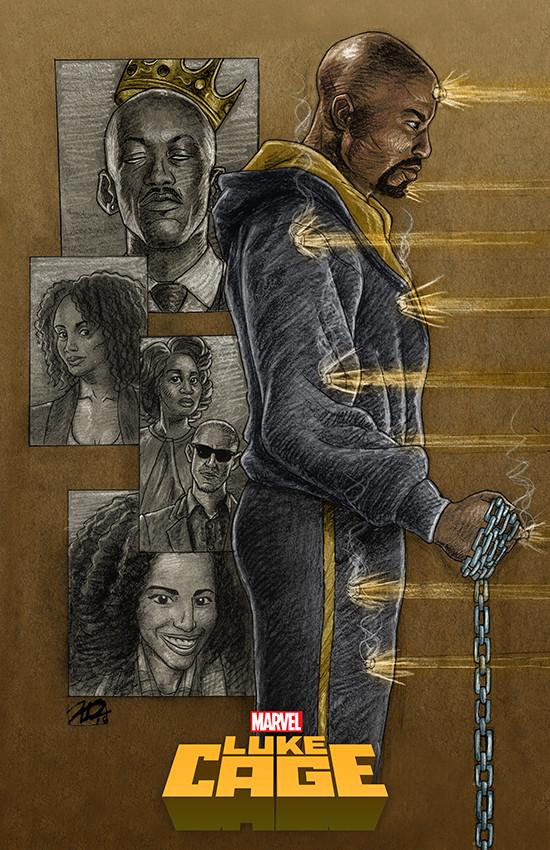 Luke Cage Poster Design