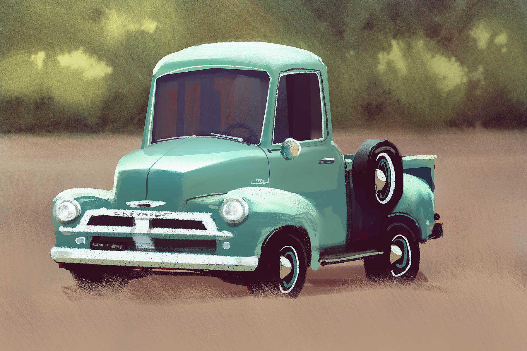 Mike mccain car study 1