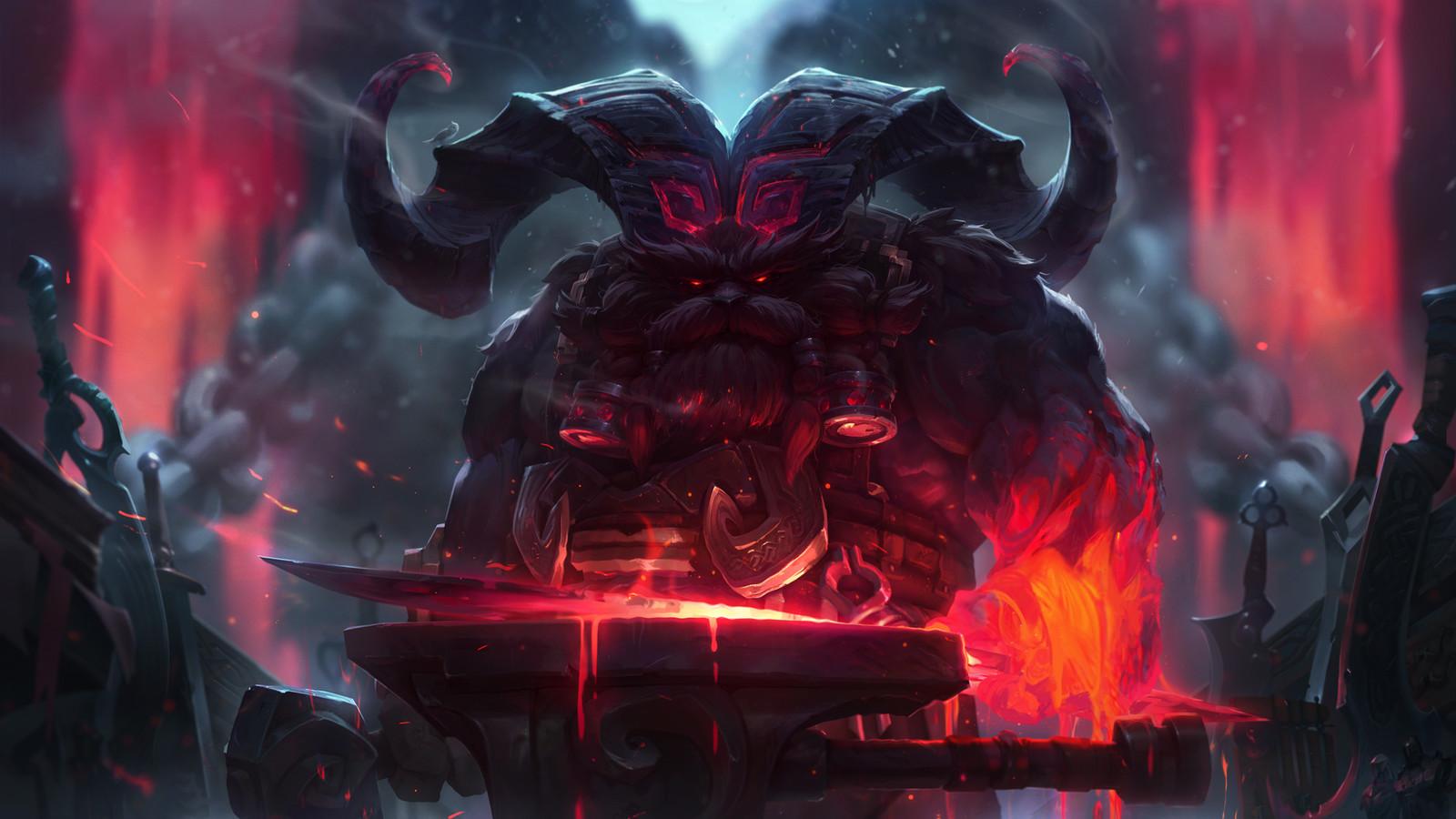 Ornn, the Fire Below the Mountain