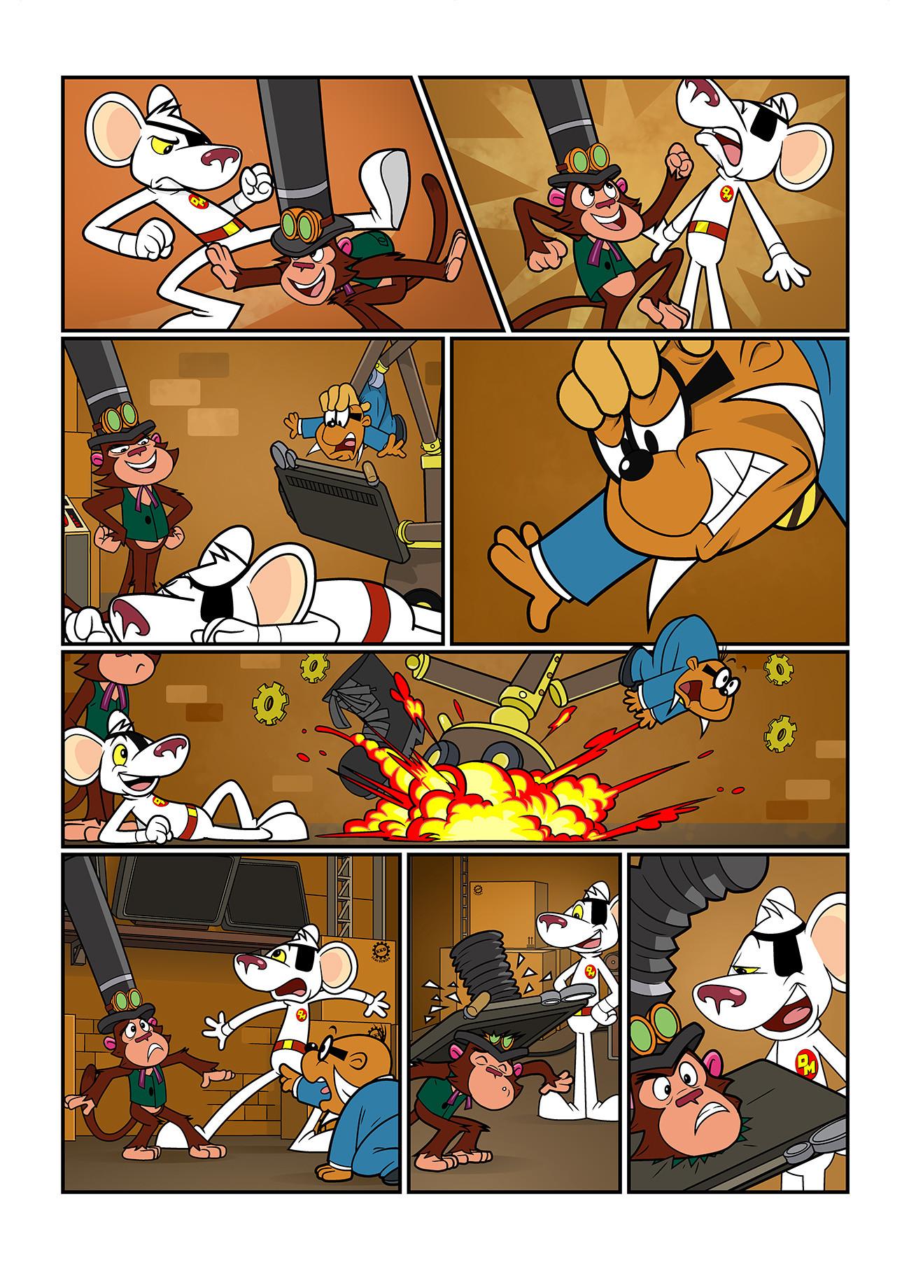 Joe amp rob sharp dm comic issue 10 page 07