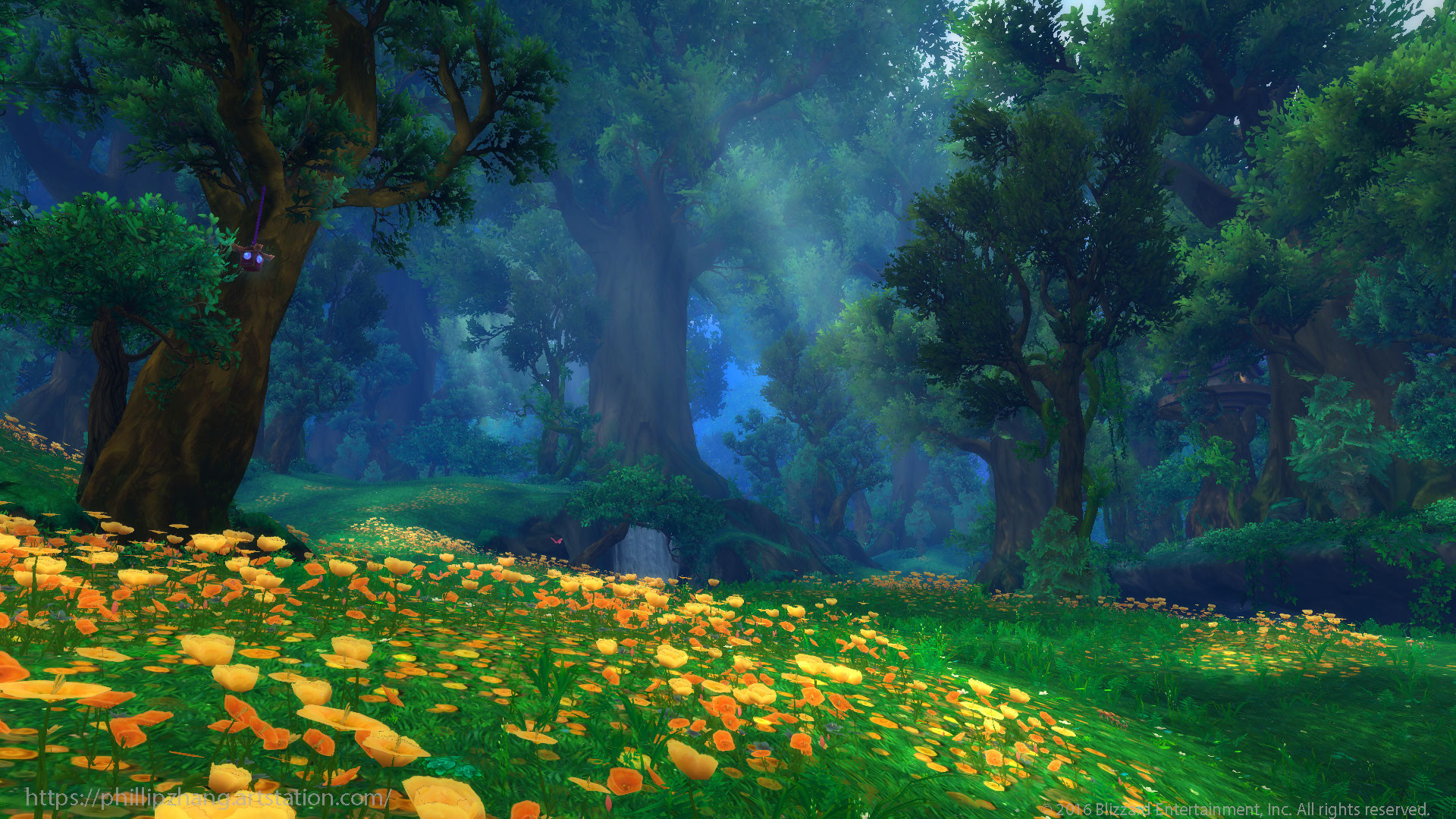 ArtStation - Val'Sharah Druid Forest - World of Warcraft