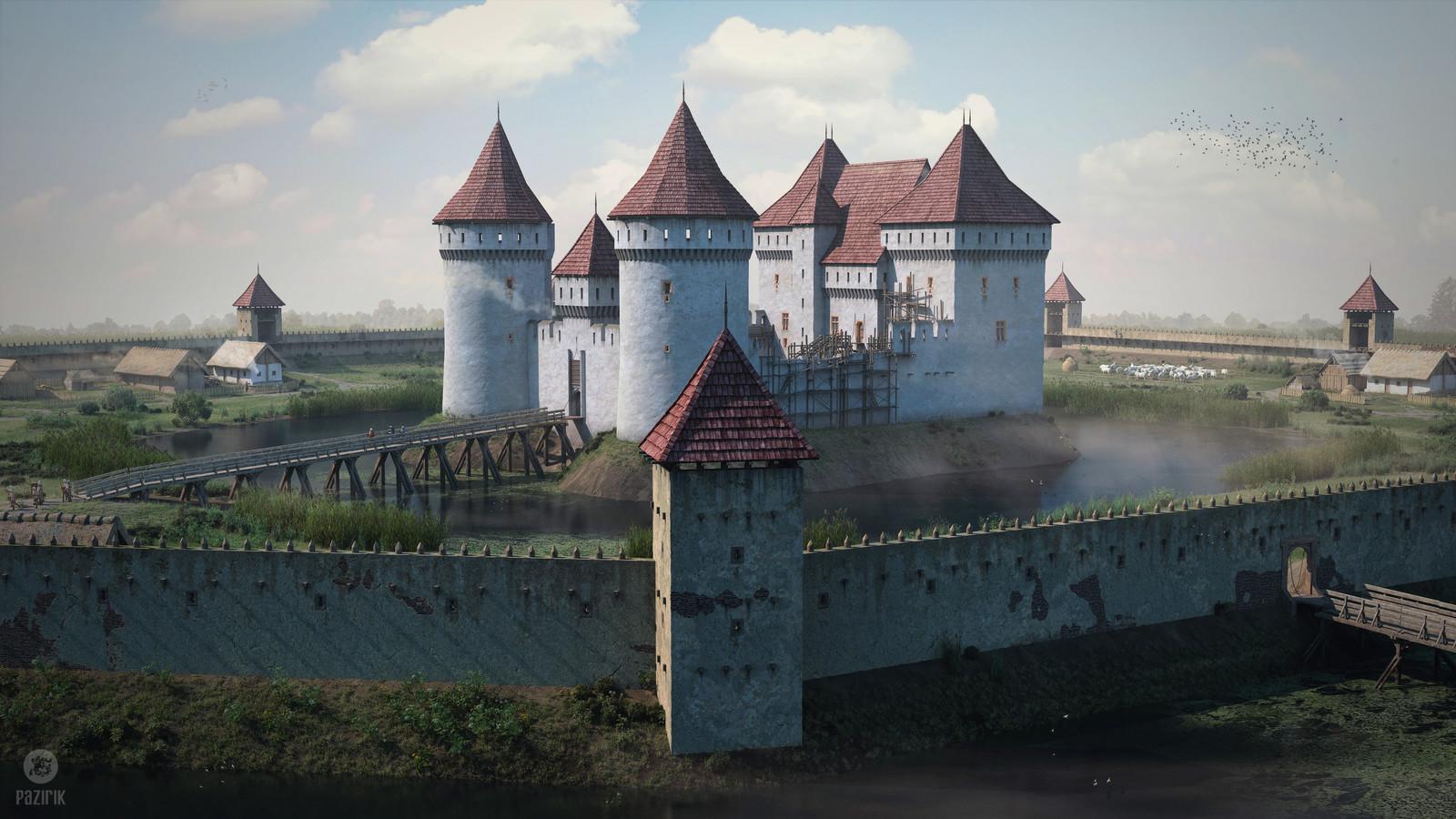 Castle of Kisvárda 1470