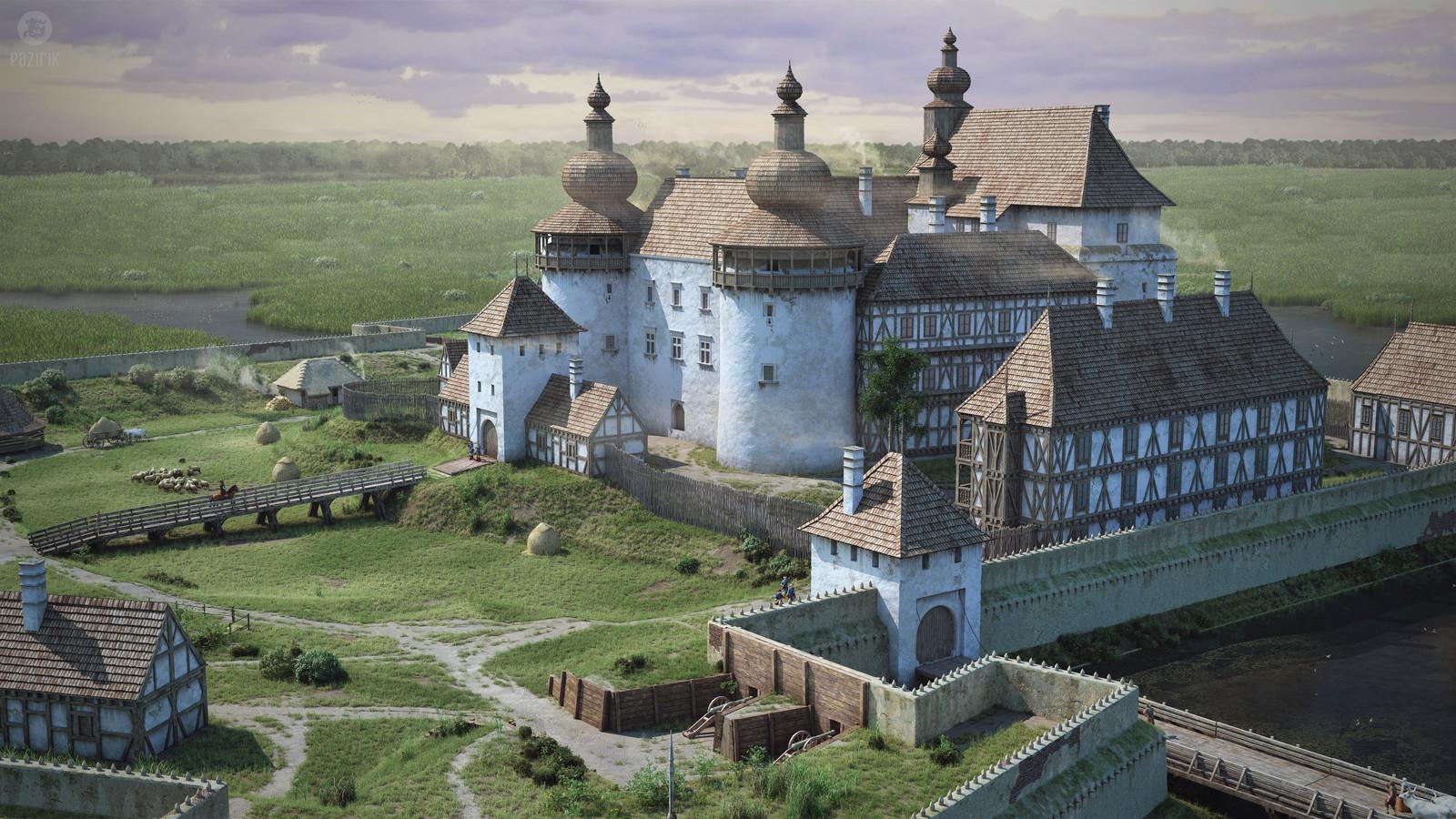 Castle of Kisvárda 1650