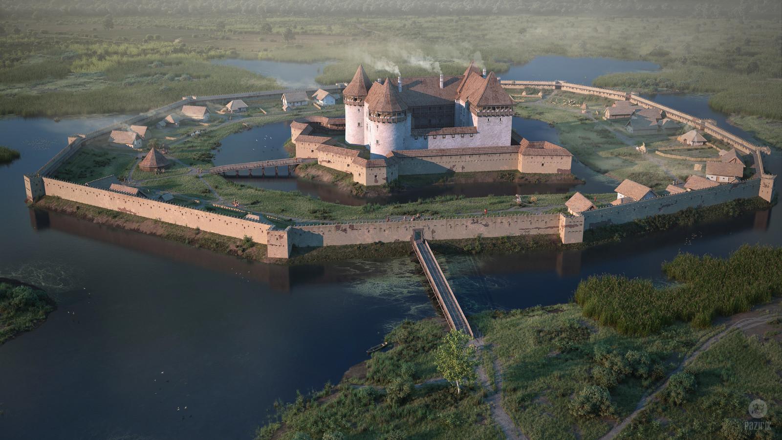 Castle of Kisvárda 1560