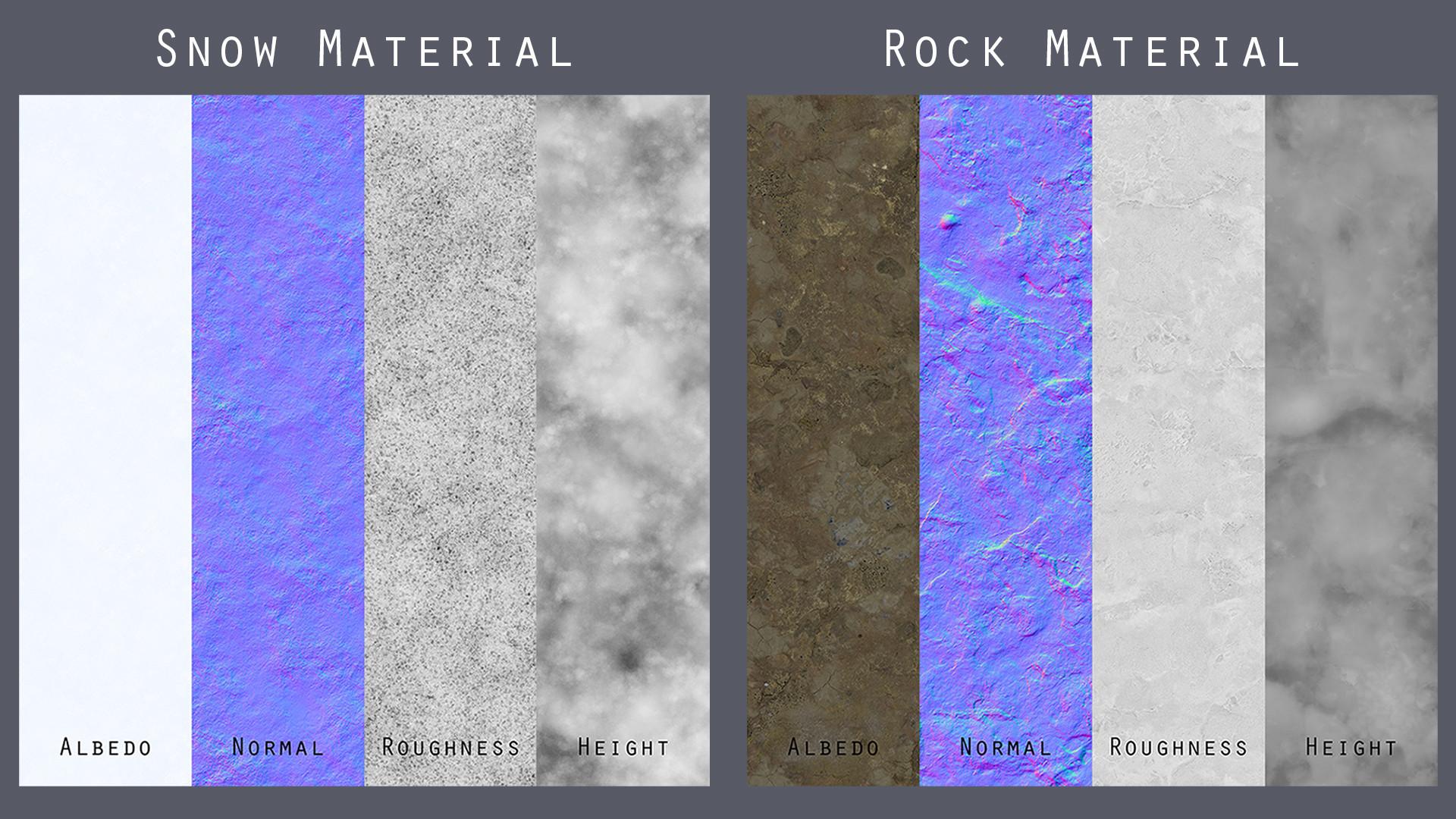 Stefan oprisan snow rock textures