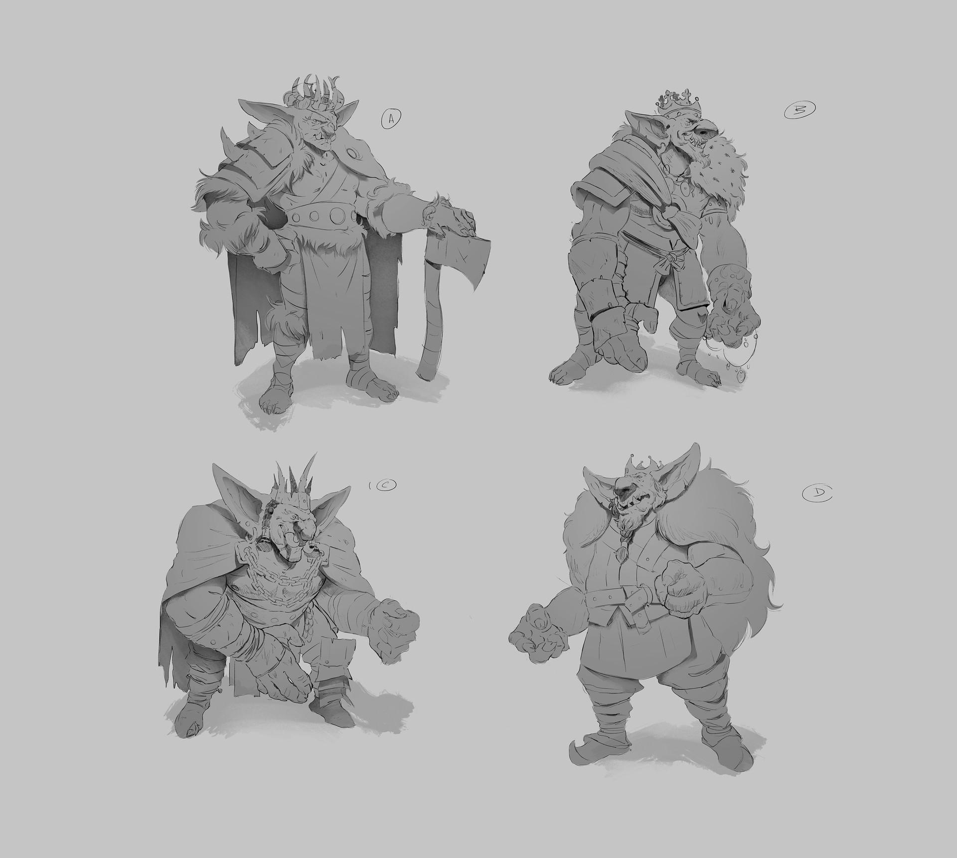 Ricardo filipe coelho concepts goblin king 02
