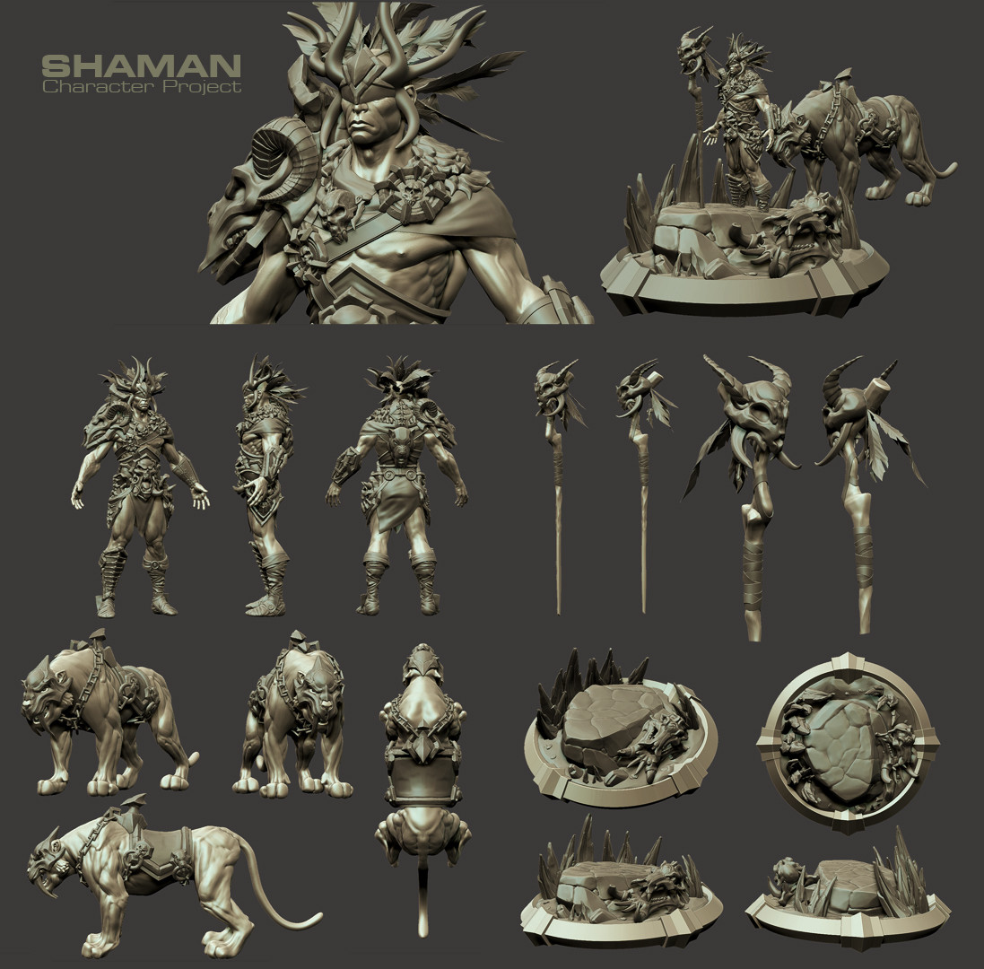 Character and Prop sheet