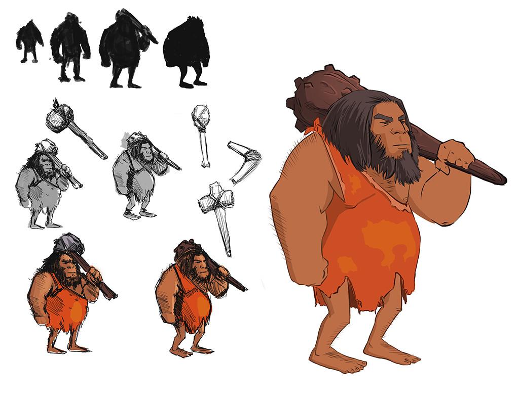 Felipe sanz neandertal