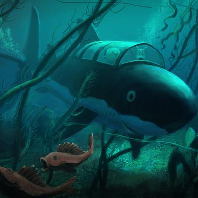 Gilles beloeil tintin requin lr