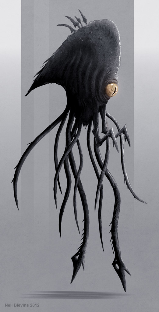 Neil blevins peril mist creature 5 rough