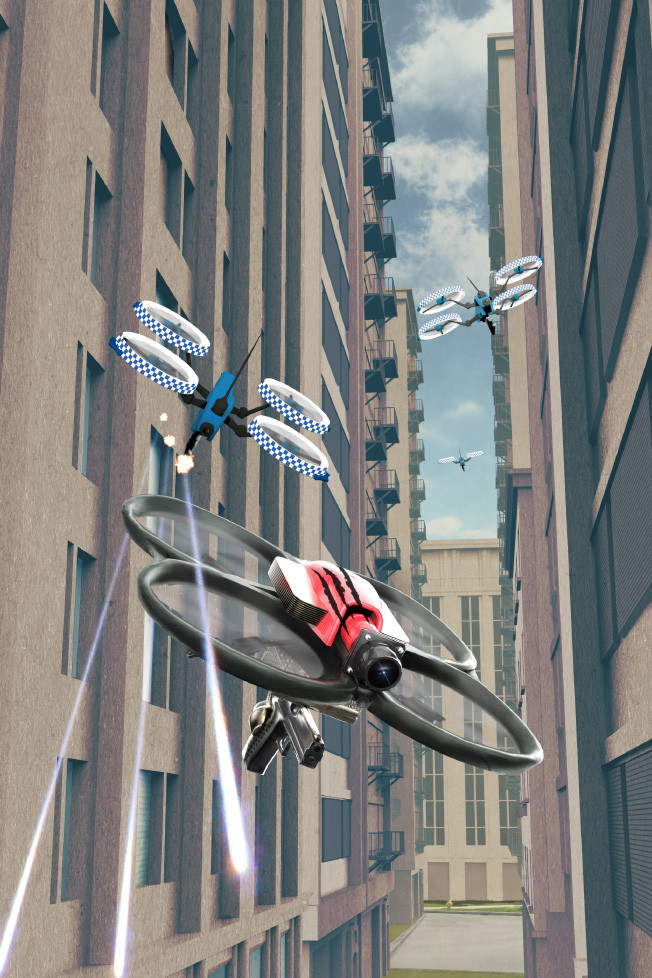 Dean bowen police drone squadron