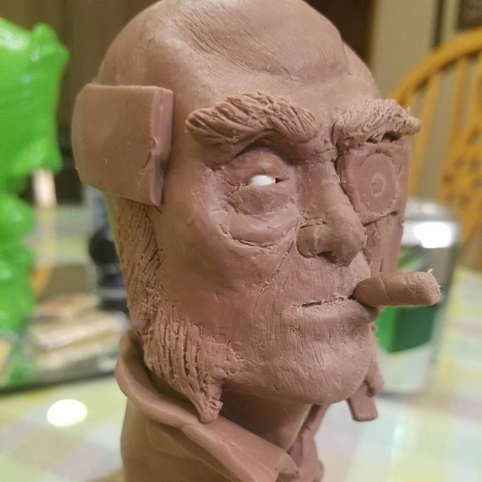 Clay sculpt 3