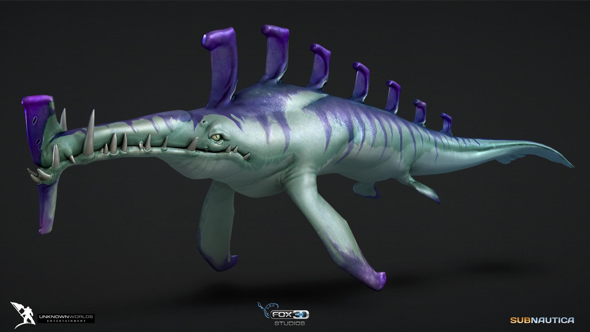 ArtStation - Subnautica, FOX3D ENTERTAINMENT