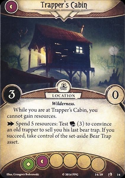 Final card layout